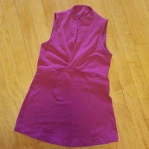 Lululemon Athletica size 6 Purple Sleeveles shirt